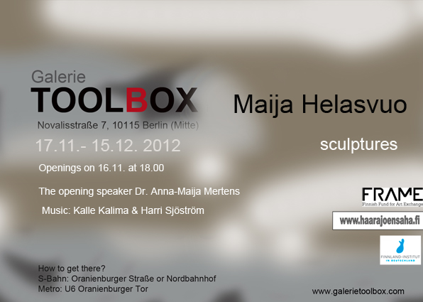 Maija Helasvuo Invitation Card