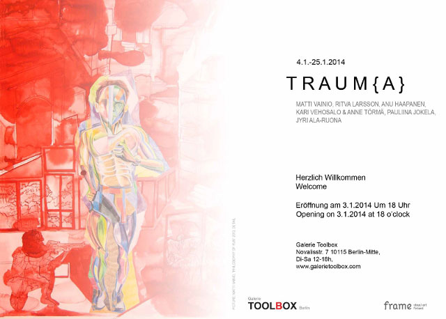 Exhibition Trauma Flyer