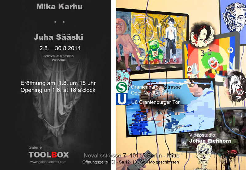 Exhibition Karhu Sääski