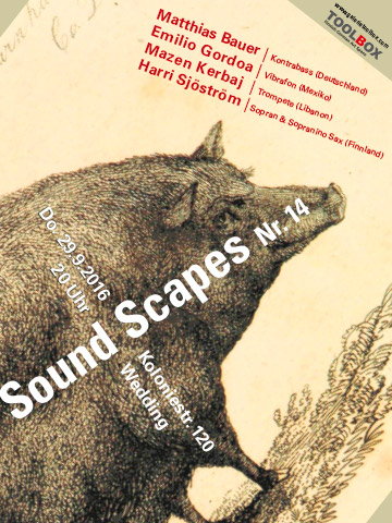 sound scapes Poster